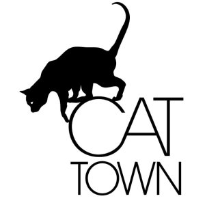cat town logo